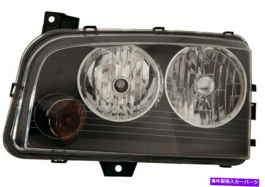 USヘッドライト 2007年から2010年のDodge Chargerの運転者側4806165AJ CH2502206 New Depo Head Light For 2007-2010 Dodge Char